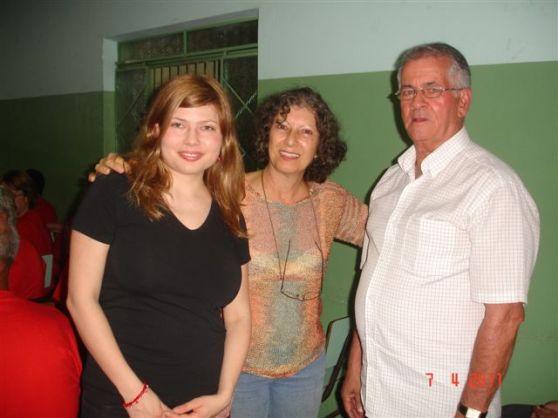 Petra, Maria Antonia kaj la urbestro de Silvianopolo - Petra, Maria Antonia e o prefeito de Silvianópolis