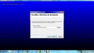 Geralmente o programa é instalado no diretório C:\Arquivos de Programas.