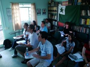 Alunos do curso básico de 2011