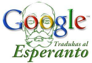 Google traduz para o esperanto