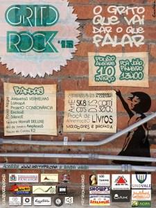 Cartaz Grito Rock Pouso Alegre