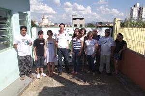 Alunos e instrutores do curso básico de esperanto 1º semestre de 2012 - Lernantoj kaj instruantoj de la baza kurso de Esperanto 1-a sesmonato 2012