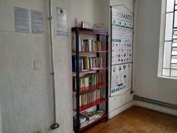 Nia sekcio ĉe biblioteko